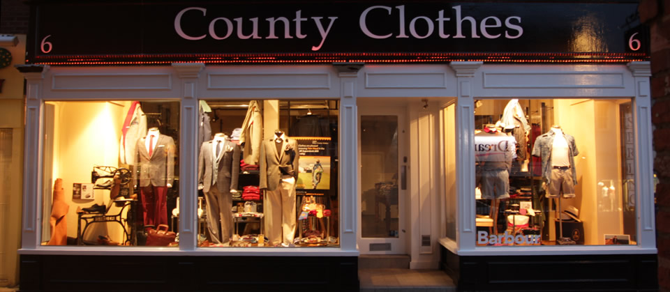 County Clothes Menswear Reigate