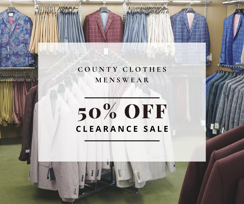 50% OFF Clearance Sale!